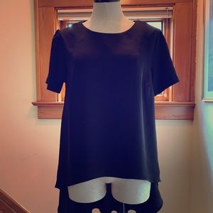 High-low blouse in black from Philosophy